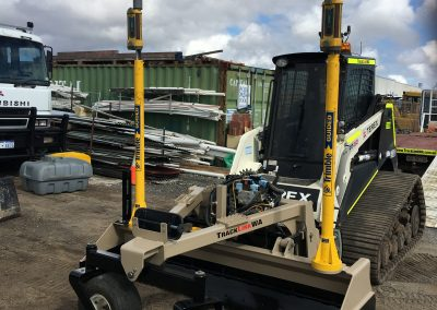 Medium Terex PT80 with 3D Auto laser grading system