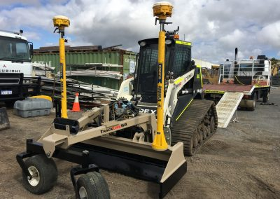 Large Terex PT80 with 3D Auto GPS Grading System (2.2m wide) accuracy 15 to 20 ml