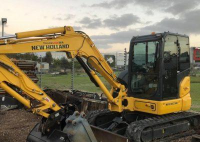 5.5 Ton New Holland Excavator Hire