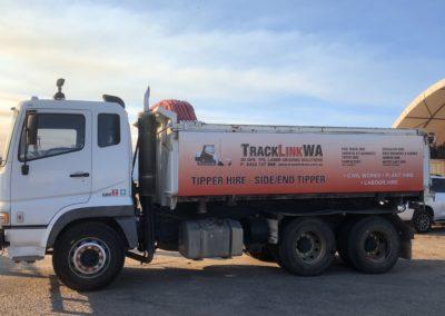 Tipper Truck Hire – Side/end tipper
